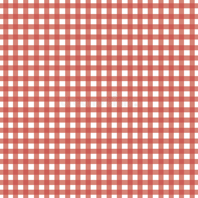 Download Red Gingham stock vector. Illustration of girl, check - 4720682