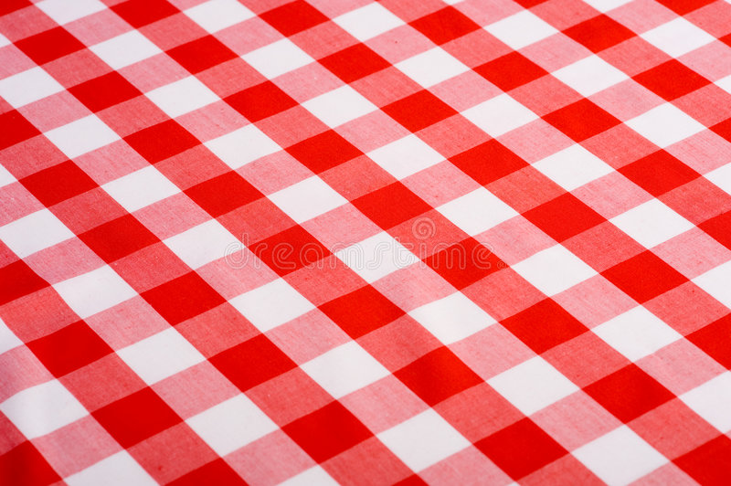 Red Gingham Background royalty free stock images