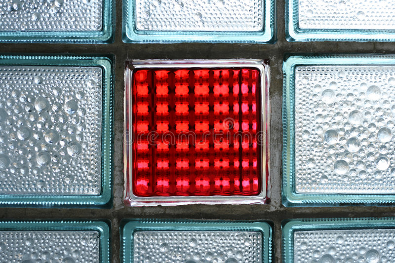 Download Red glass tile stock photo. Image of blue, materials, glare - 4331572