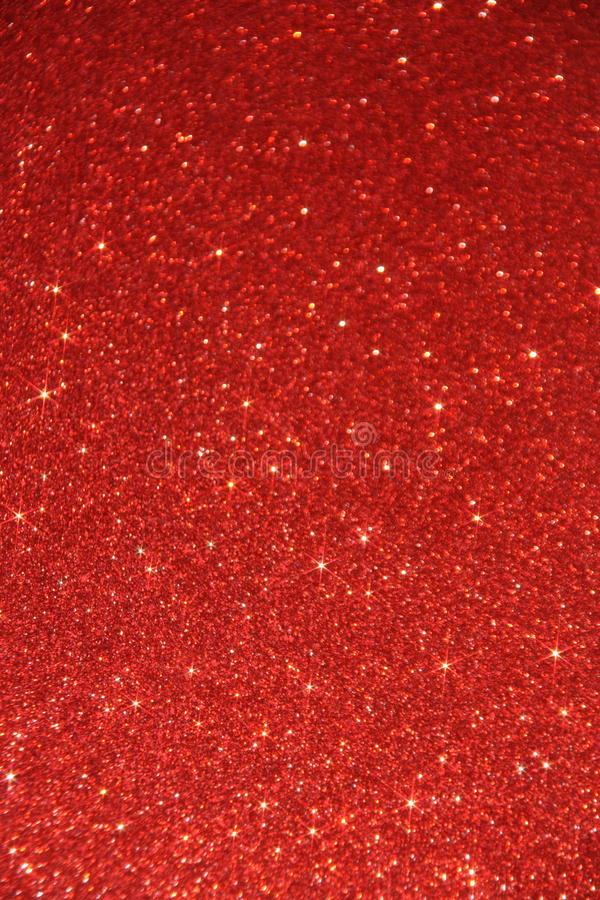Red Glitter Background. Blur Backdrop with stars in blurred lights stock photos
