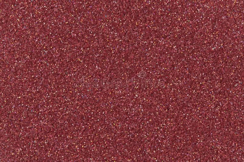 Red glitter background, texture. Low contrast photo. Red Glitter Background. Low contrast photo royalty free stock photography