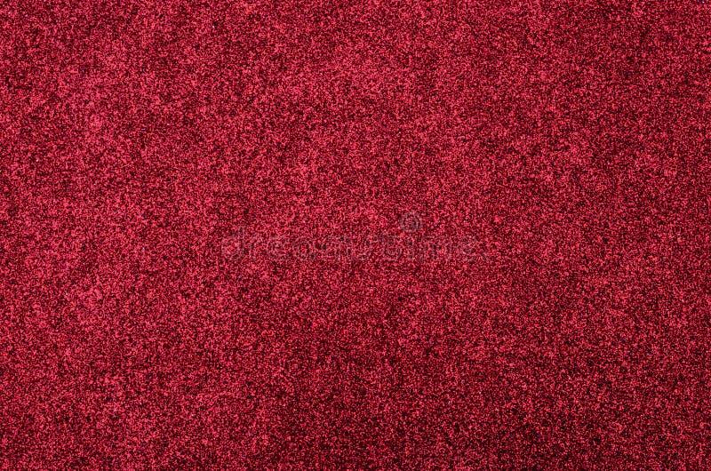 Red glitter foam sheet texture stock photos