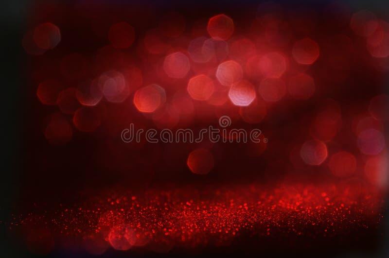 Download Red Glitter Vintage Lights Background Stock Photo - Image: 83700285