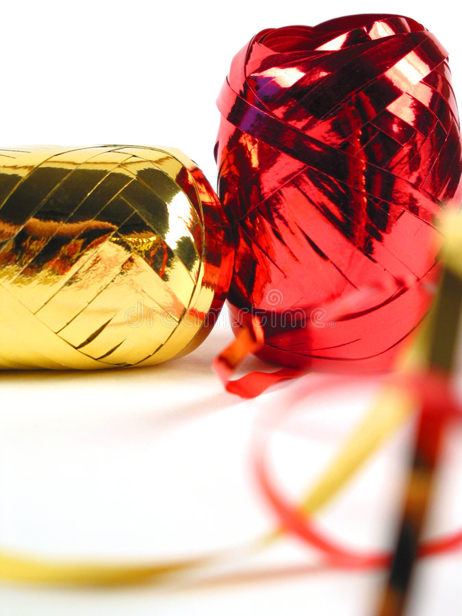 Download Red and gold ribbons stock photo. Image of xmas, christmas - 152112
