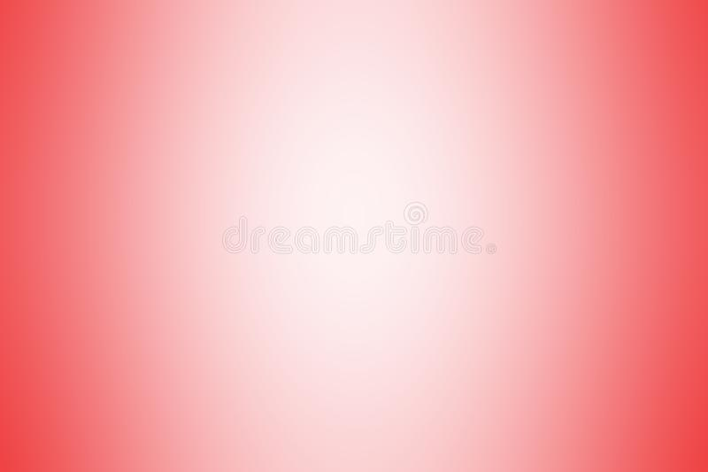 Red gradient background color soft light, gradient red soft bright wallpaper beautiful, red picture gradient hue soft blur. The red gradient background color vector illustration
