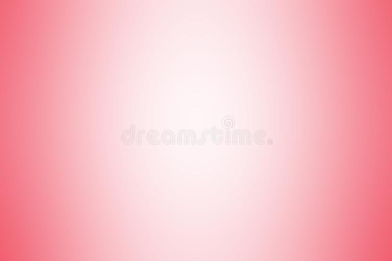 Red gradient background color soft light, gradient red soft bright wallpaper beautiful, red picture gradient hue soft blur. The red gradient background color royalty free illustration