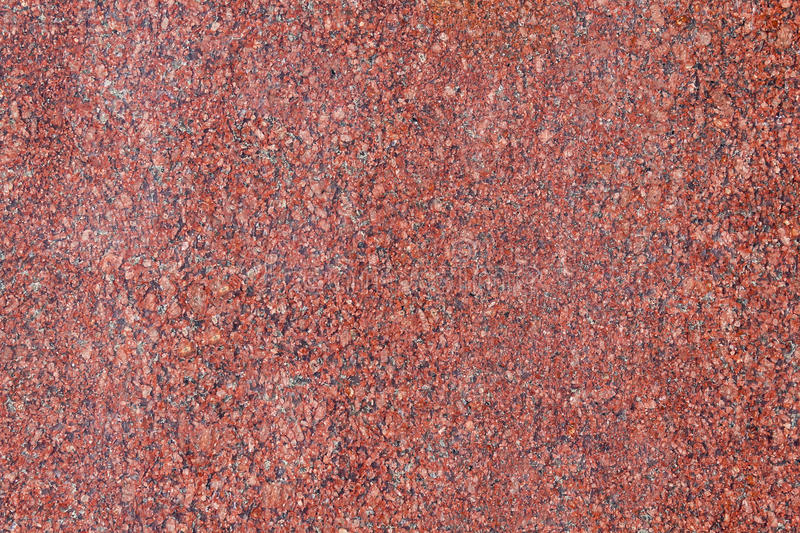 Red granite pattern. Closeup seamless pattern and texture of red granite stock photos
