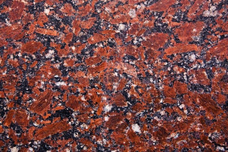 Red granite sample stock photos
