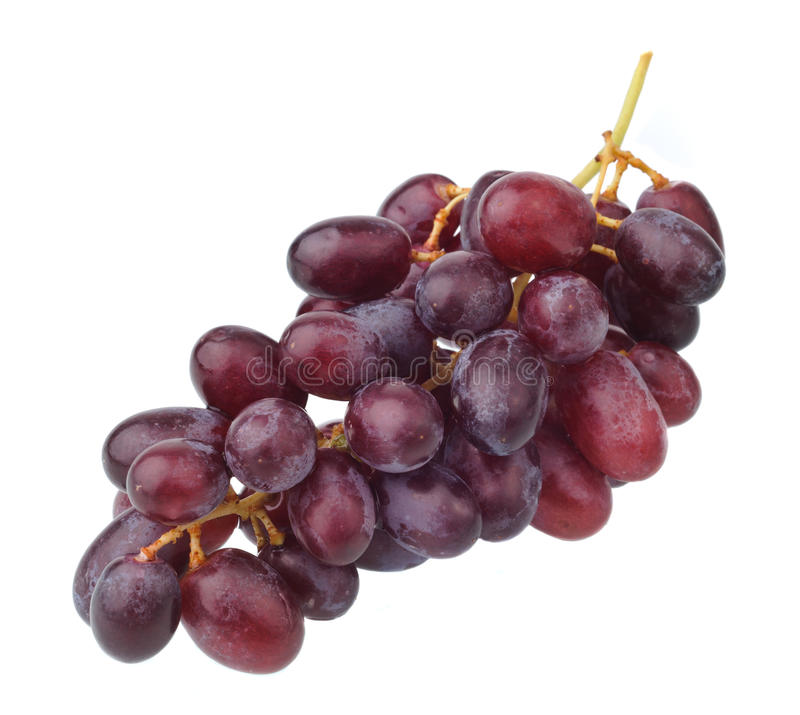 Download Red Grape Isolated On White Stock Image - Image: 18676415
