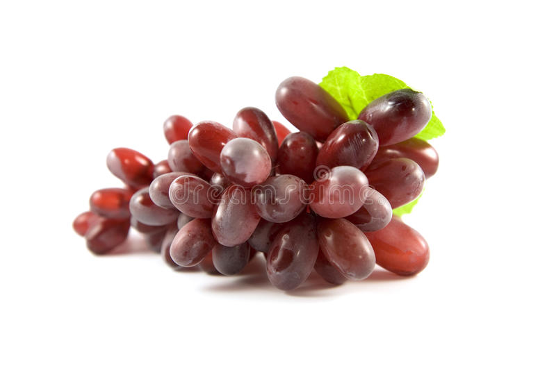 Download Red Grape Isolated On White Background Stock Image - Image: 16031361