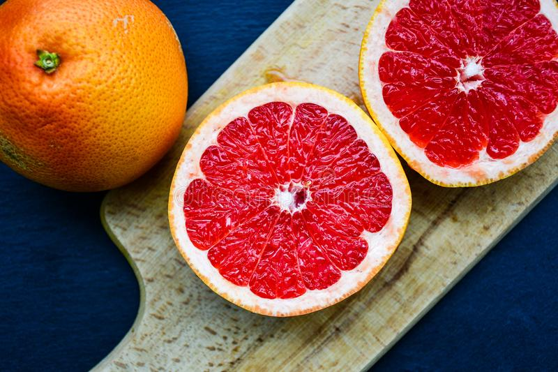 Red grapefruit stock images