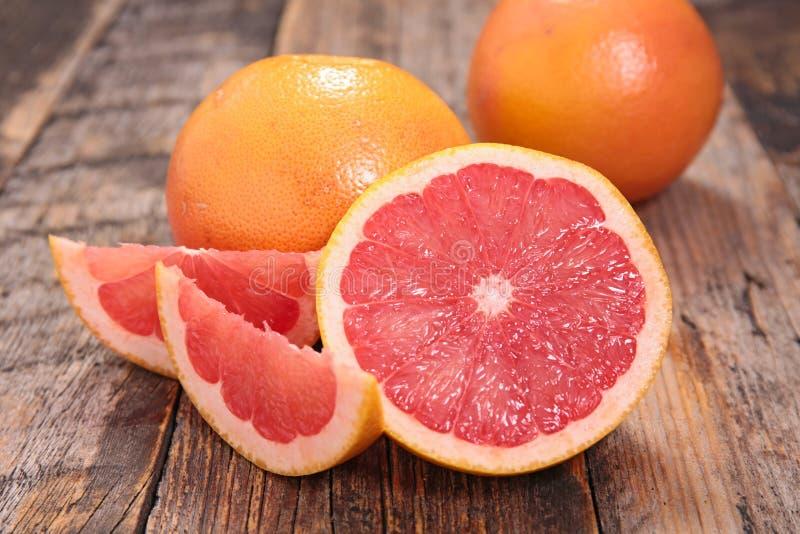 Red grapefruit royalty free stock photos