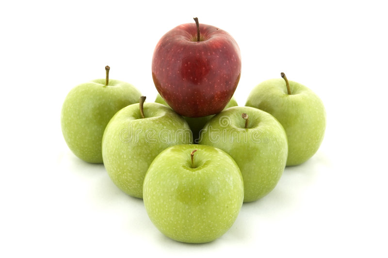 Download Red on Green stock image. Image of leader, juicy, natural - 85655