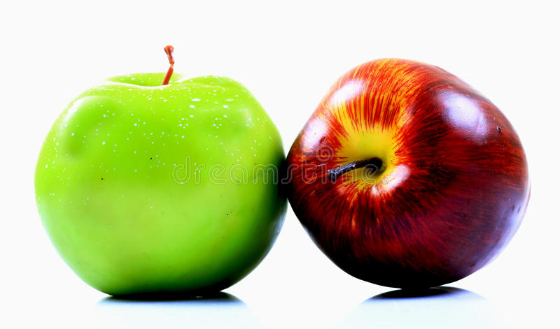 Download Red and green apple stock image. Image of healthy, apple - 24763189