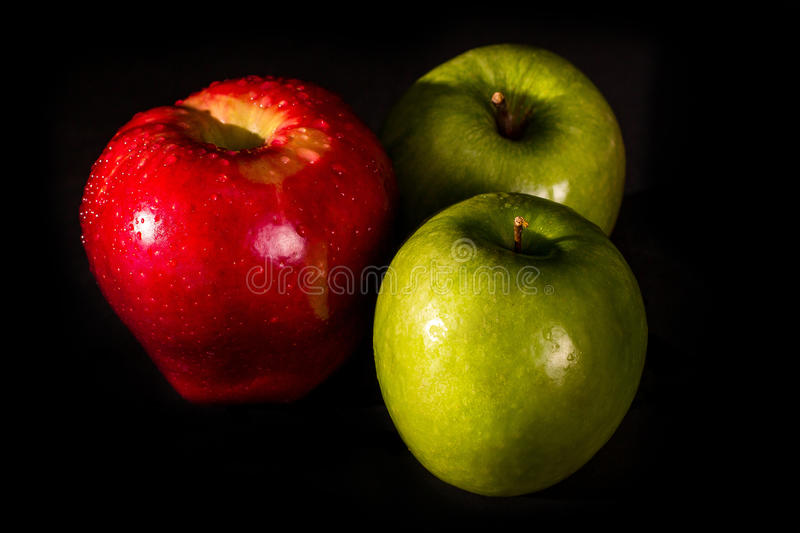 Download Red And Green Apples Stock Photo - Image: 83712523