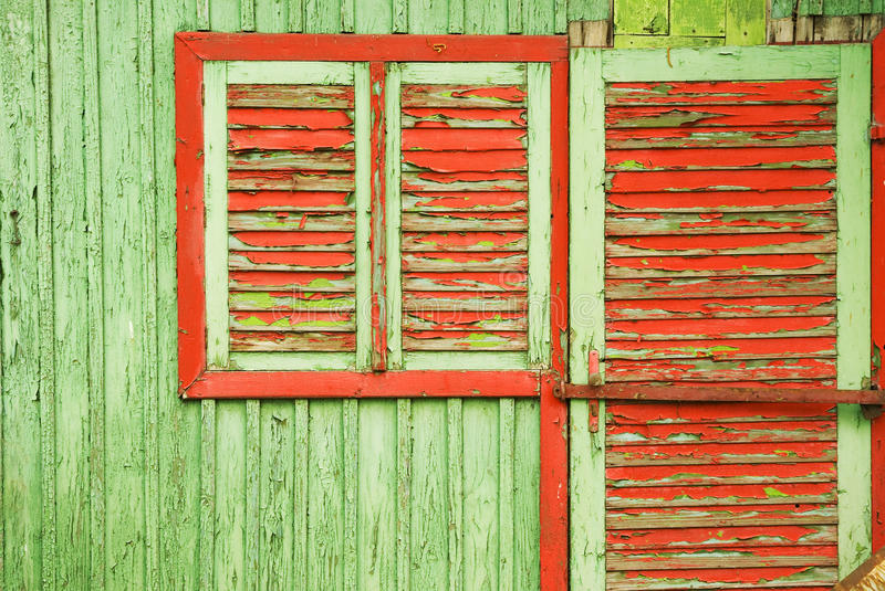 Red Green Color Contrast Stock Images
