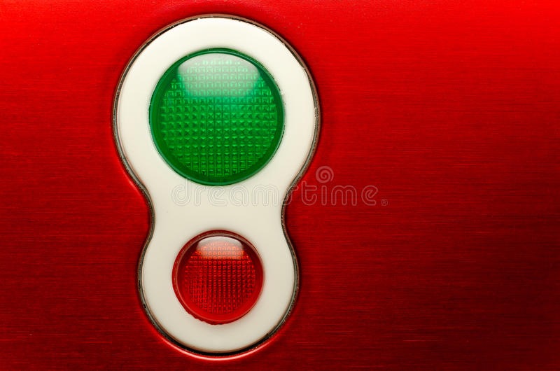 Download Red And Green Lights stock photo. Image of halt, electronics - 27776938