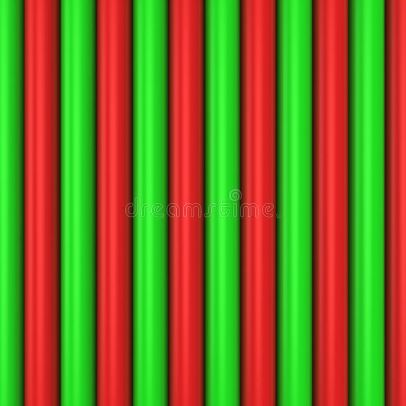 Red and green pattern royalty free illustration