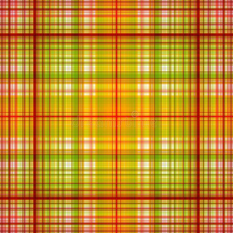 Red and green plaid pattern background stock photography