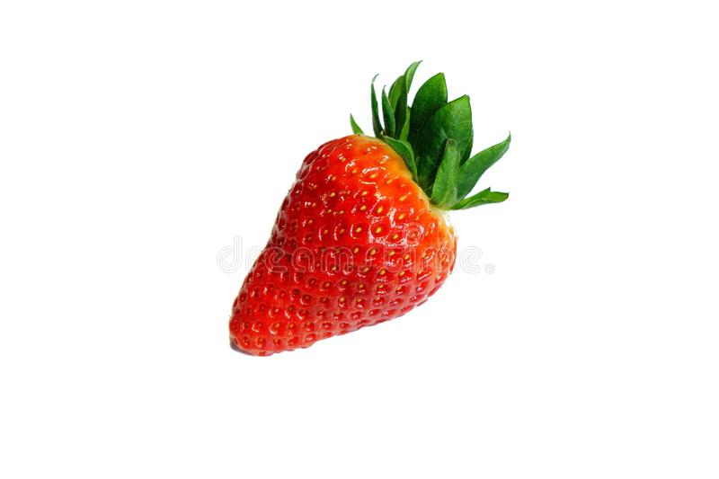 Red and Green Strawberry Fruit royalty free stock image