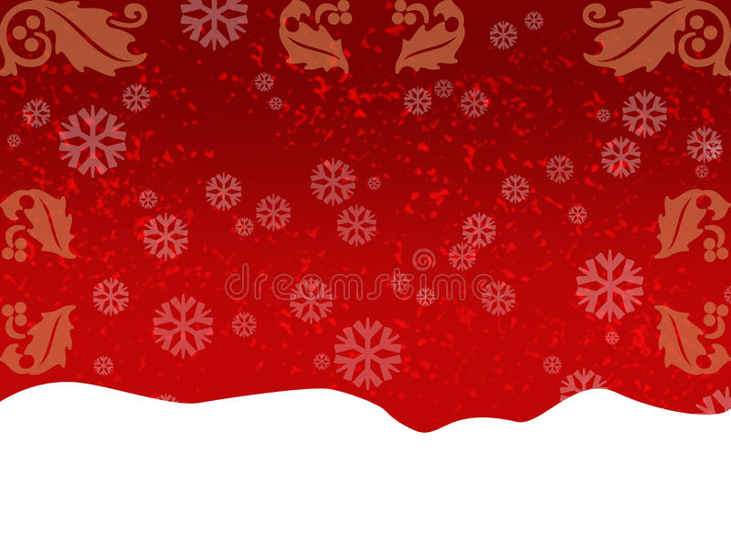 Red greeting card stock image