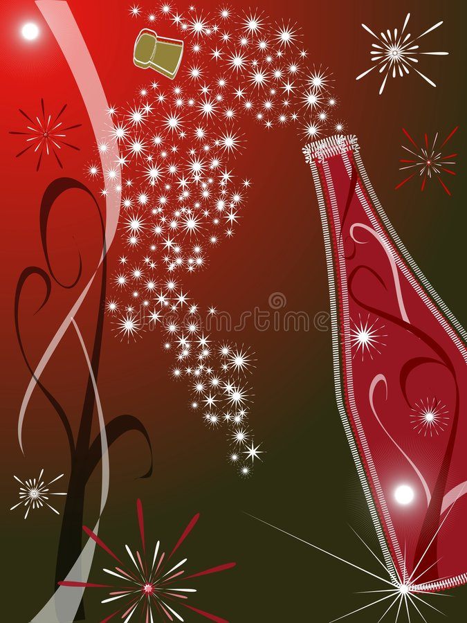 Red greeting card royalty free stock photos