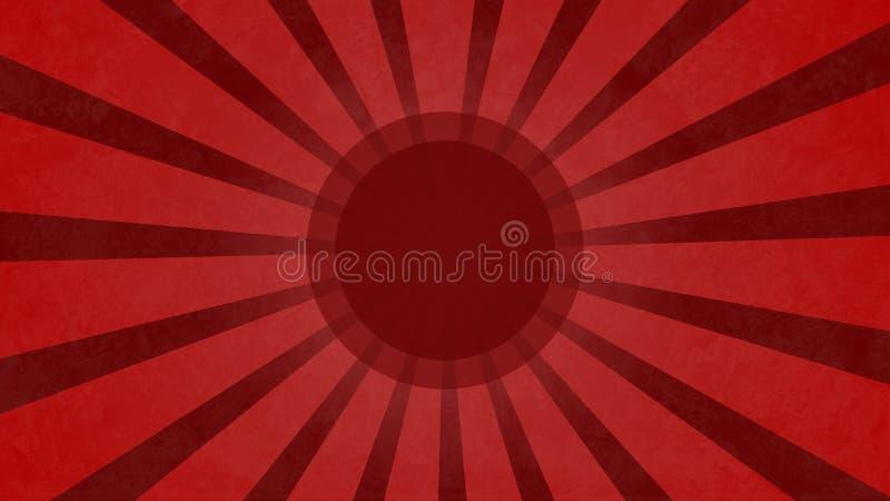 Red grundge cartoon vortex background illustation. Nice red grundge cartoon vortex background illustation stock illustration