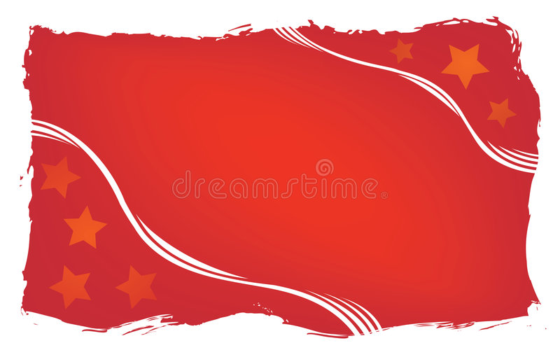 Red grunge background, vector stock images