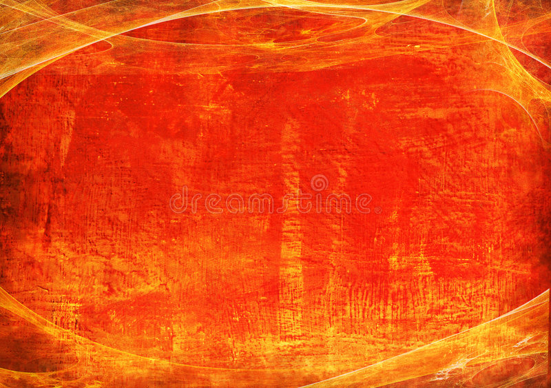 Red grunge frame 2. Orange and Red grunge frame background royalty free stock photos