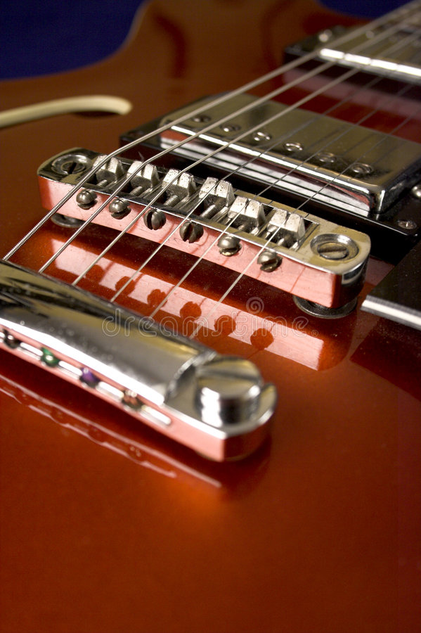 Download Red Guitar Stock Photo - Image: 1704260