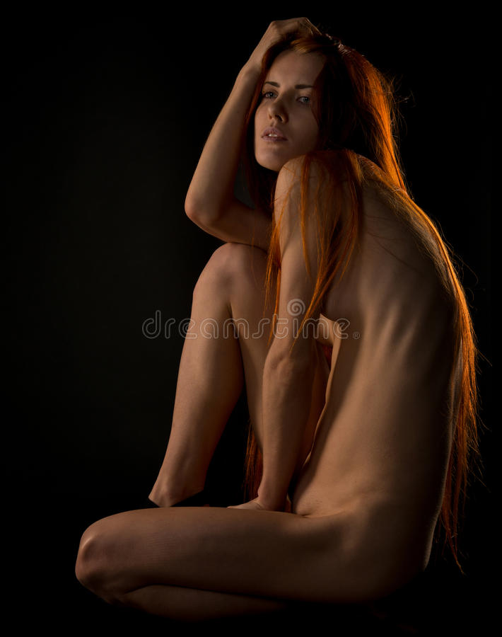 nude-black-and-red-hair-naked-girl
