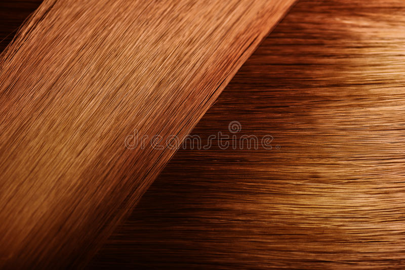 Red hair sample swatch stock image. Image of coloring - 92764257