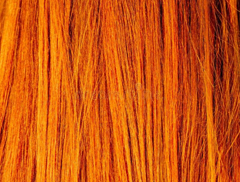 Red Hair Texture Macro Stock Image Image Of Natural