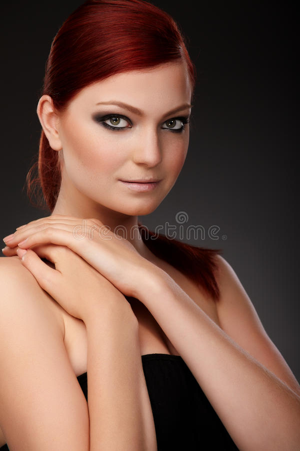 Free Red-haired Beauty Royalty Free Stock Image - 14746316