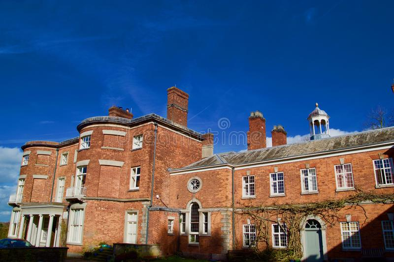 Red Hall i cheshire royaltyfria bilder