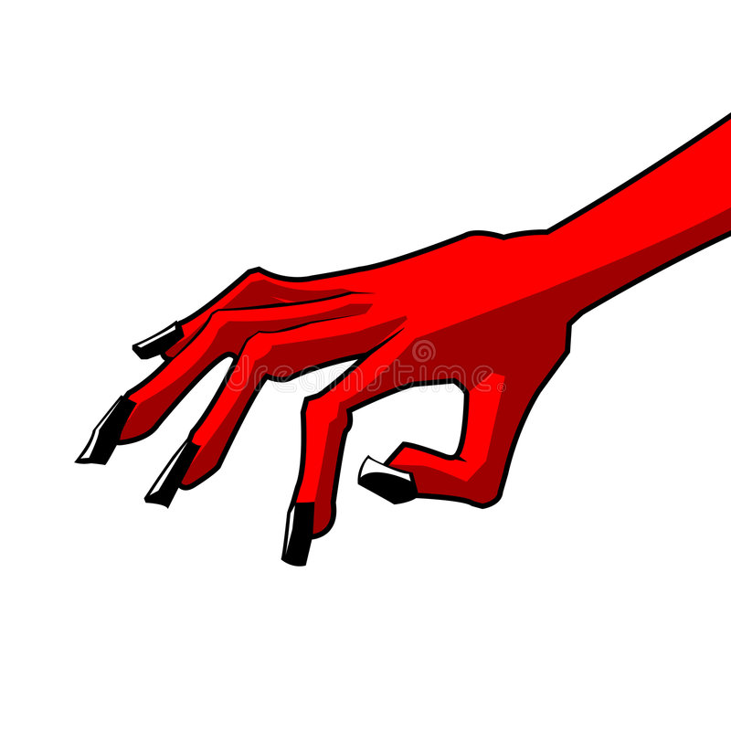 Red Hand stock photos