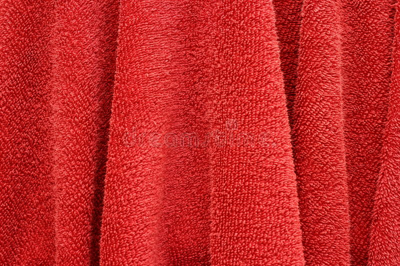 Download Red hand towel stock image. Image of color, clean, cloth - 27680999
