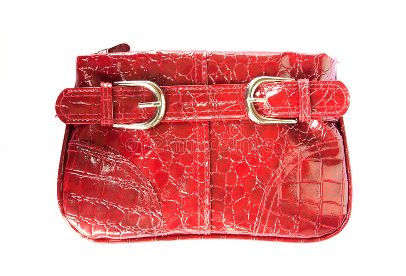 Download Red handbag for woman stock image. Image of purse, background - 39506561