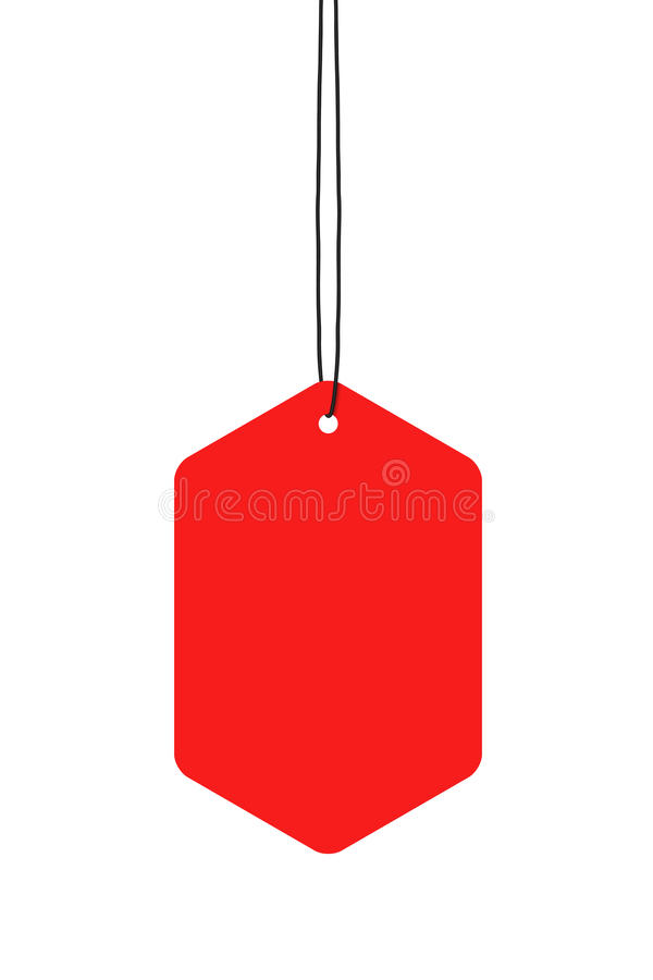 Download Red Hanging Tags stock illustration. Image of group, green - 21219292