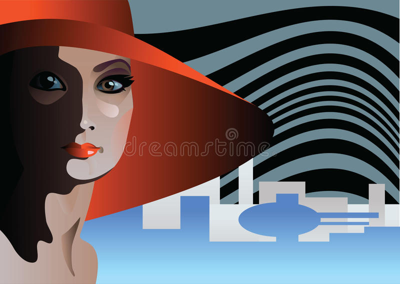 Download Red Hat stock illustration. Illustration of appeal, jeweller - 9916788