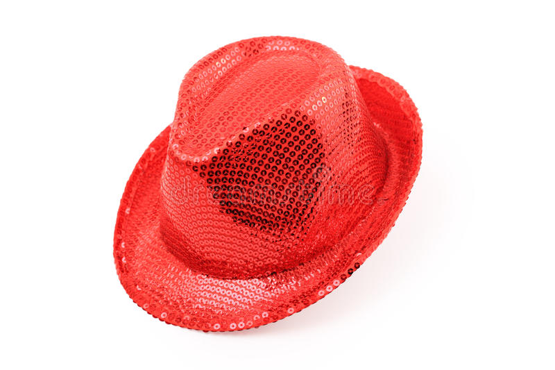 Download Red hat isolated stock image. Image of object, woven - 22974959