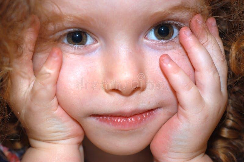 Red-headed meisje stock afbeeldingen