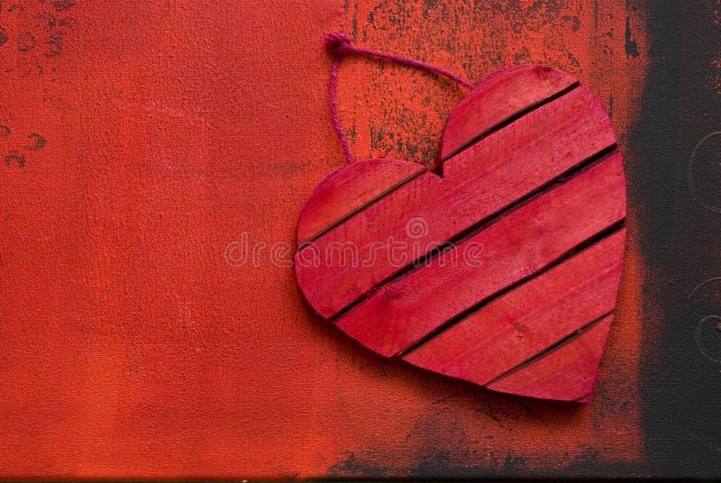 Download Red heart stock illustration. Image of love, color, black - 12446128