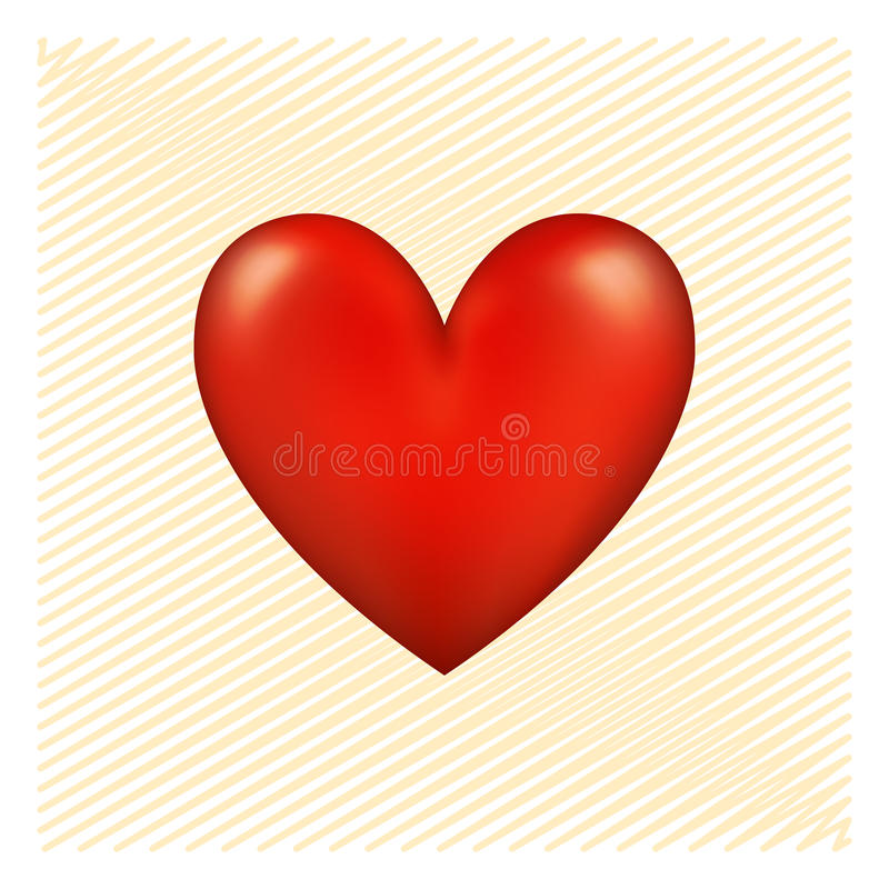 Download Red Heart Royalty Free Stock Images - Image: 12756739