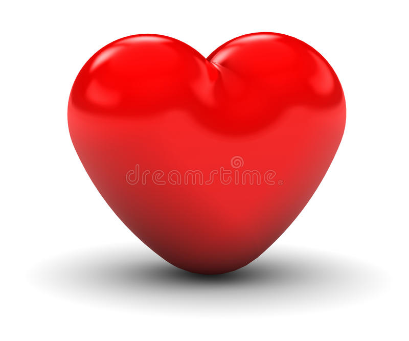 Download Red Heart stock illustration. Illustration of passion - 13423943