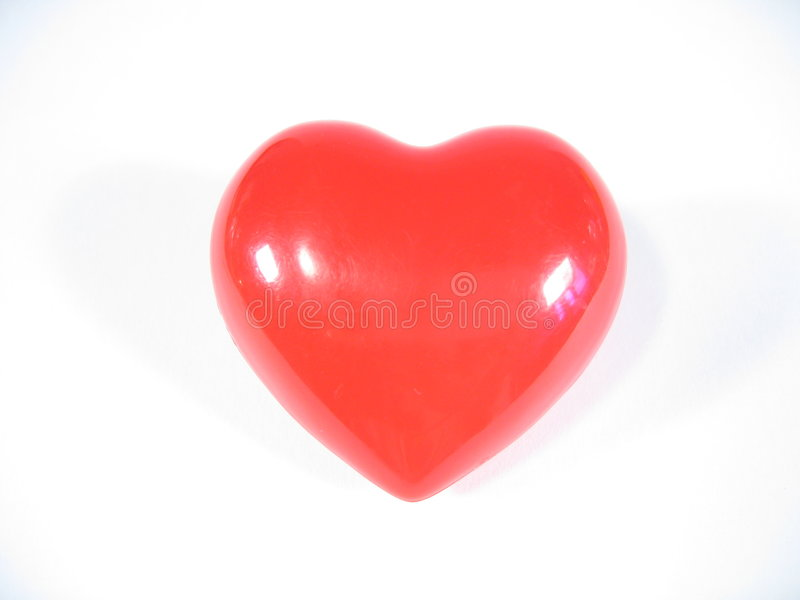 Download Red Heart stock photo. Image of objects, affection, feeling - 17162