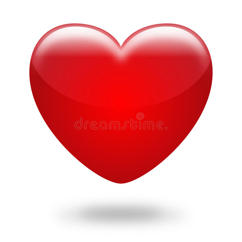 Free Red Heart Royalty Free Stock Images - 18161479