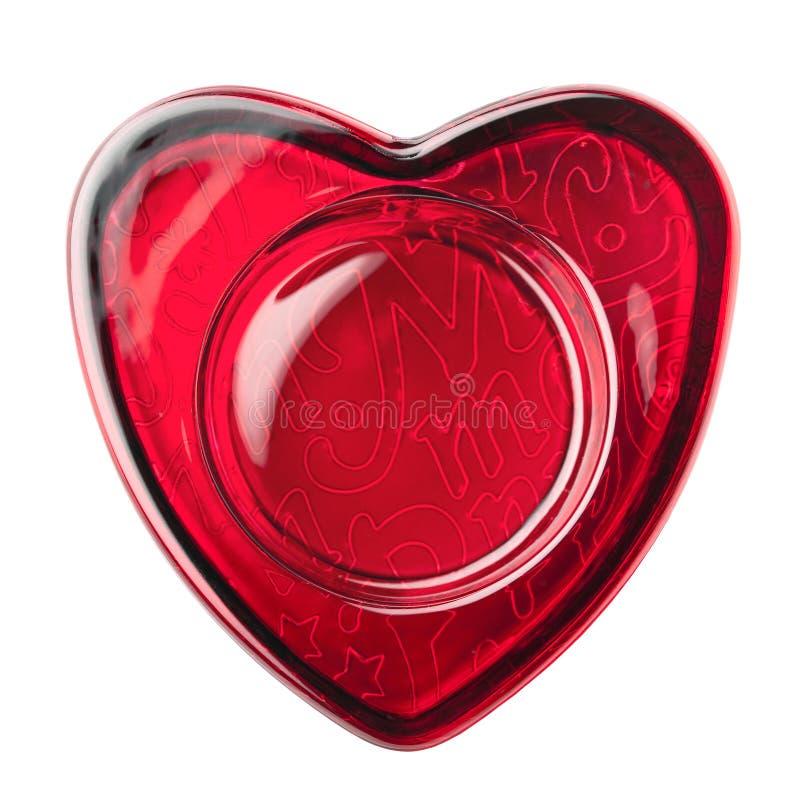 Download Red heart stock image. Image of glass, beloved, frame - 23060419