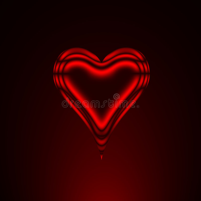 Free Red Heart Royalty Free Stock Image - 6433176