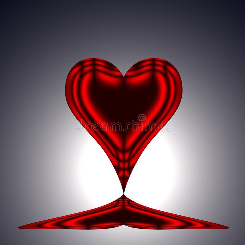 Free Red Heart Stock Image - 6433181